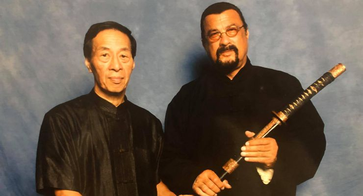 Samuel Kwok and Steven Seagal