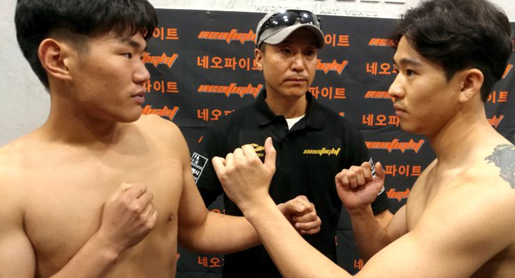 5- Oh Suk-hwan Dae-hwan Cho 70kg 8-lap tournament