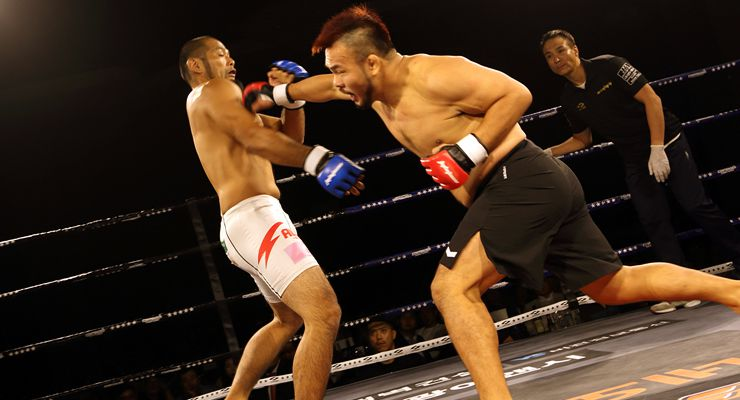 Kwang-Hee Lee vs Yuta Nakamura 154 lbs./70 kg