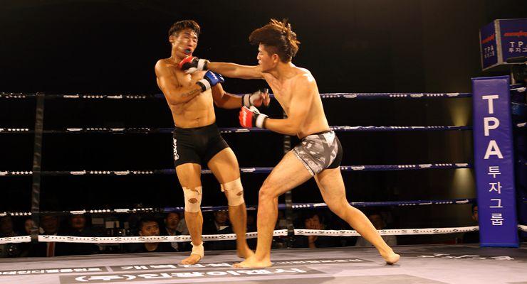 Min-Gun Kim vs. Min-Hyung Kim 154 lbs/70 kg