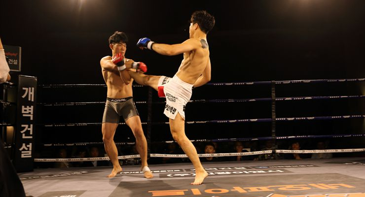 Sung-Hwan Cho vs. Soo-Hwan Oh 154 lbs/70 kg
