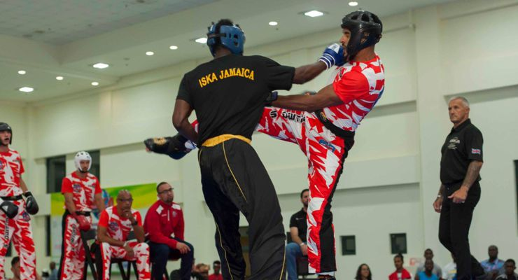 Adult Kumite at the 2018 ISKA Amateur World Championship Jamaica