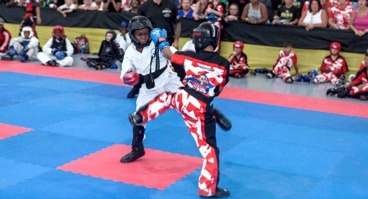 Kumite at the 2018 ISKA Amateur World Championship Jamaica