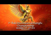 1st Bali International Kungfu Championships 2018