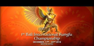 1st Bali International Kungfu Championships 2018