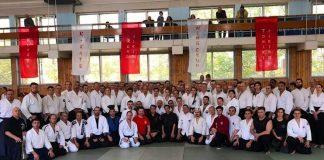 GM Seagal and GM Kwok teach aikido and wing chun seminar in Russia in 2018
