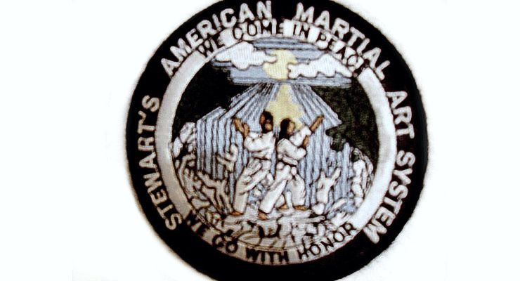 Stewart's American Martial Arts System Patch