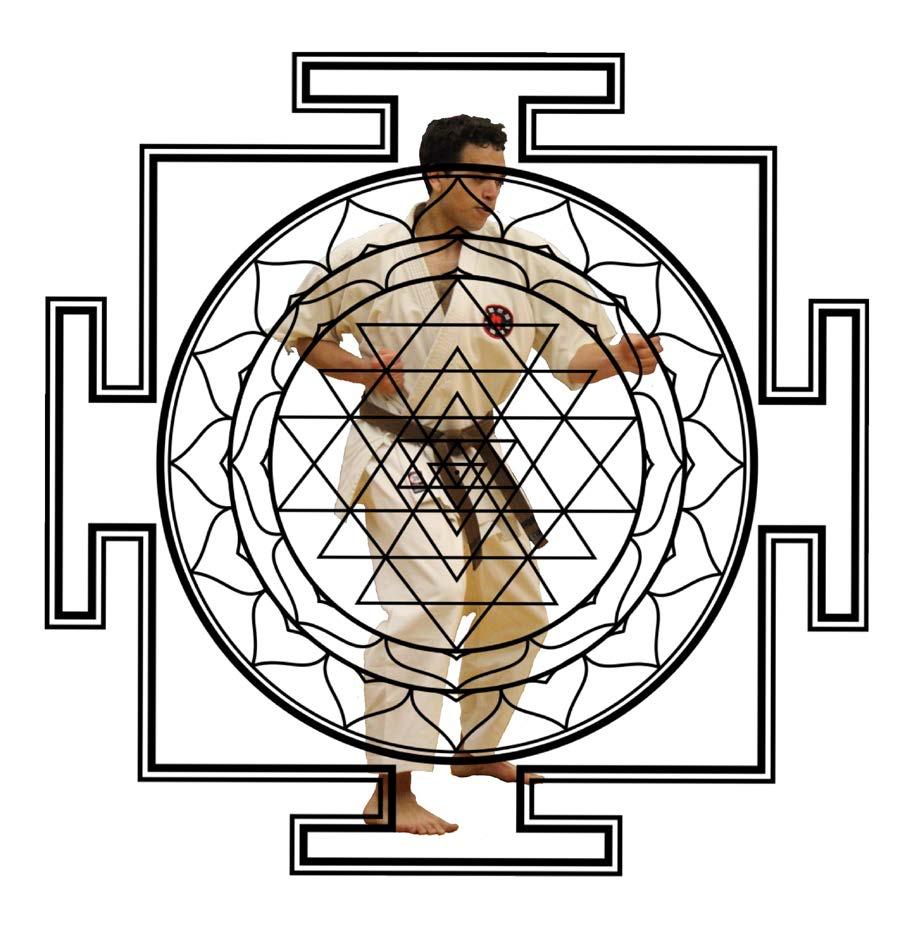 Sri Yantra, sacred Indian spiritual symbol.