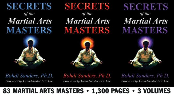 Secrets of the Martial Arts Masters in 3 Volumes