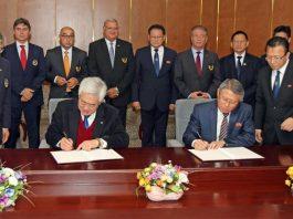 Taekwondo Governing Bodies Signing Agreement