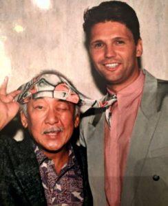 Brian Adams and Mr. Miyagi