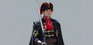 Croatian Soldier with Cravat