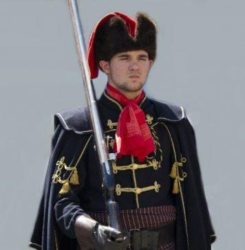Croatian Soldier with Cravat