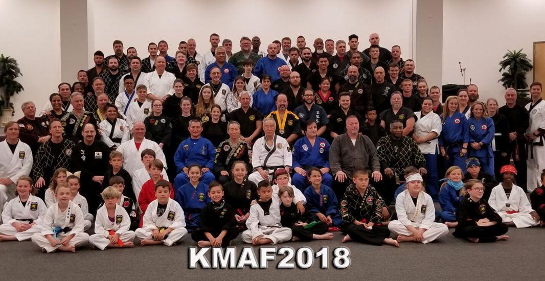 Korean Martial Art Festival 2018 Group Photo