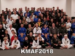 Korean Martial Arts Festival 2018 group photo