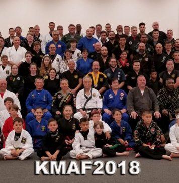 Korean Martial Arts Festival 2018 group photo