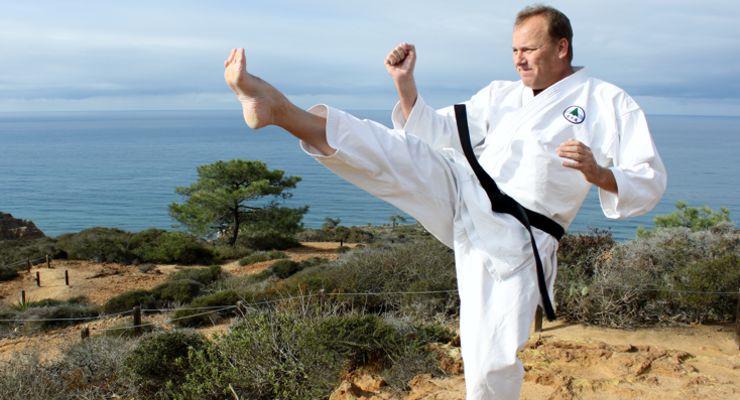 Martial Arts instructor Peters Grootenhuis.
