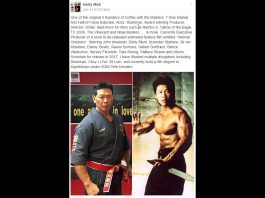GM Harry Mok, Weapon Training