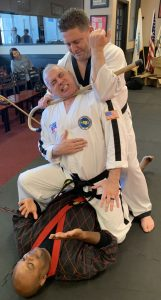 Alain Burrese Teaching at the Korean Martial Arts Festival 2019