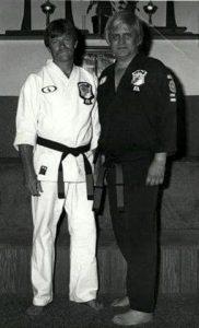 Bob White and Ed Parker