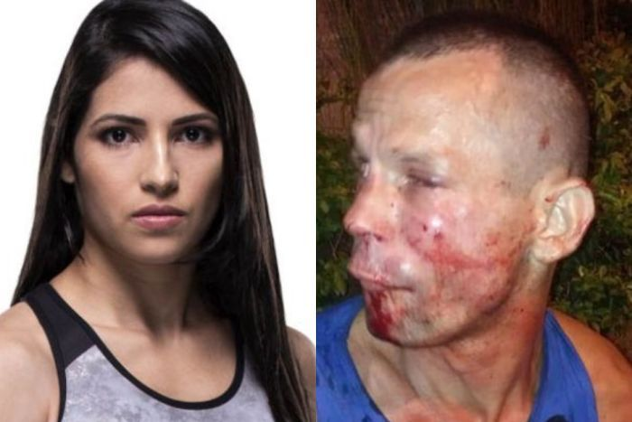 UFC fighter Polyana Viana and mugger