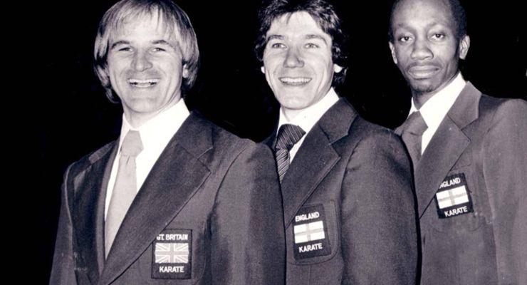 Karateka Ticky Donovan OBE, Peter Dennis, Tyrone Whyte