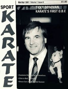 Ticky Donovan, Karate's First O.B.E.