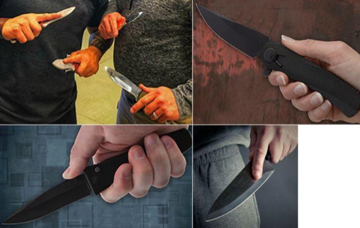 Dangerous Knife Grips