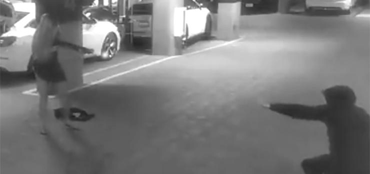 Garage Shooting