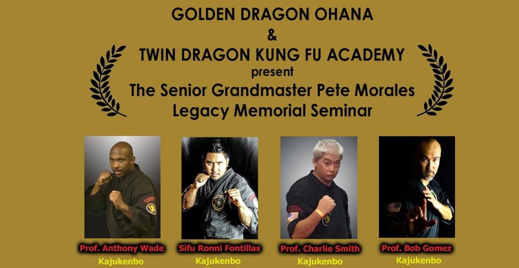Sr. Grandmaster Pete Morales Legacy Memorial Seminar